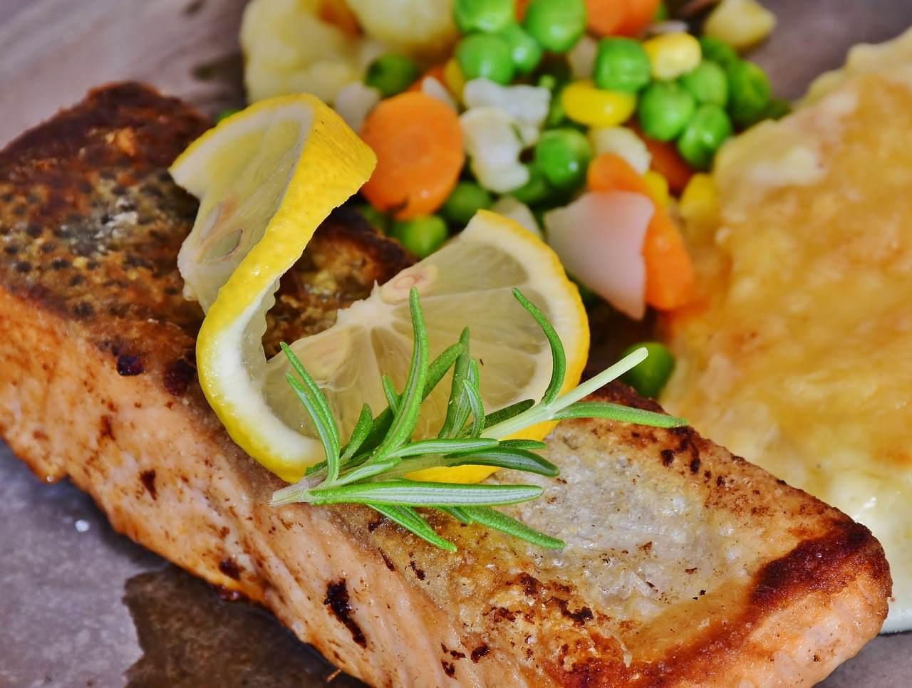 trancio cotto di salmone