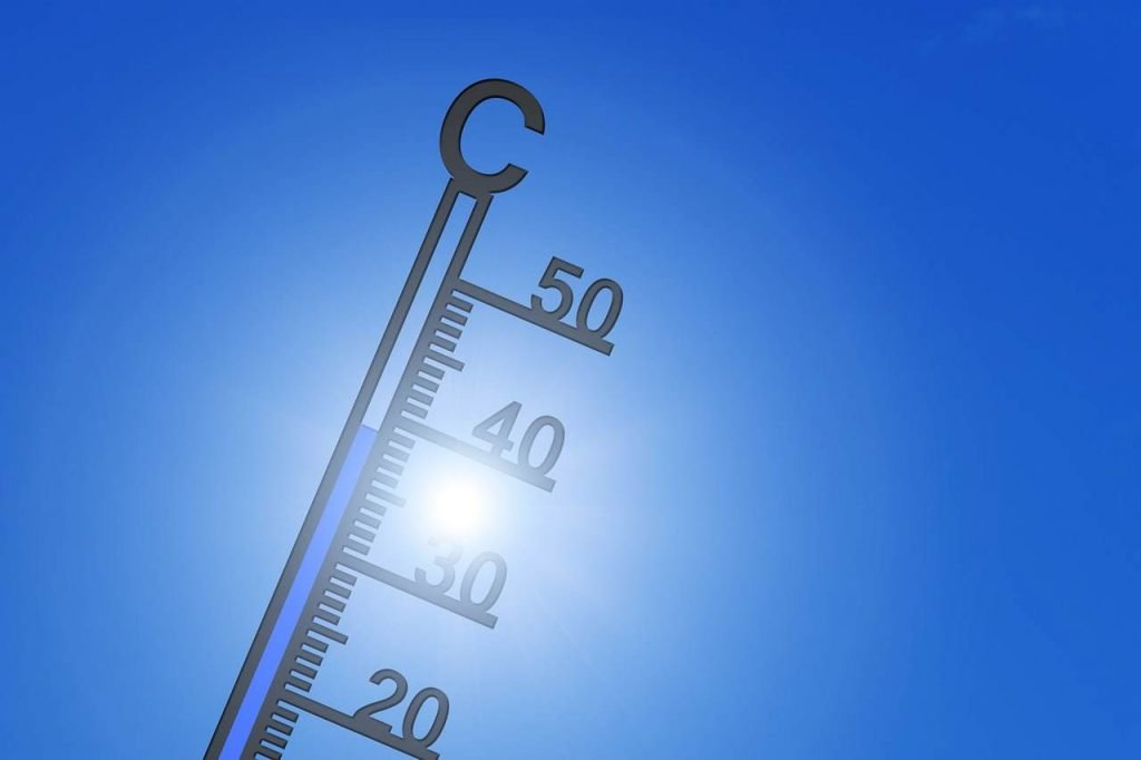 termometro alte temperature e colpo di calore